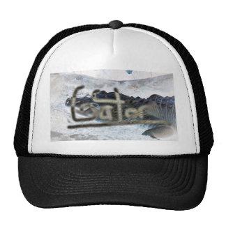 alligator invert with word gator hat