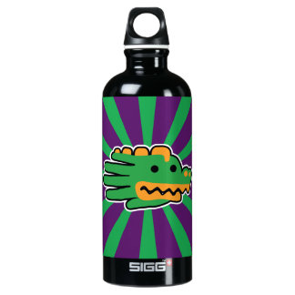 Alligator Jaw Aluminum Water Bottle