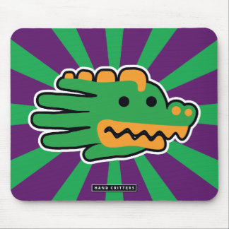 Alligator Jaw Mouse Pad