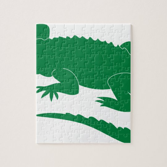 Alligator Jigsaw Puzzle