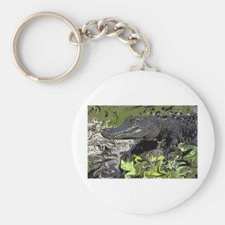 Alligator Keychain