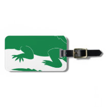 Alligator Luggage Tag