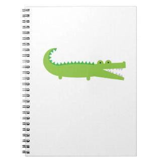 Alligator Spiral Notebooks