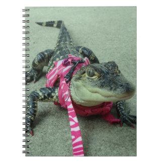 Alligator Notebook For Girls