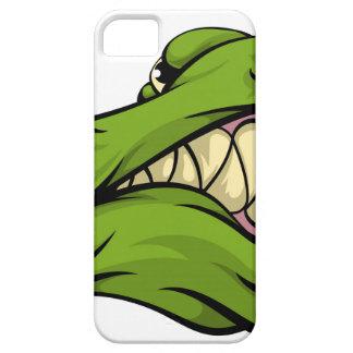 Alligator or crocodile mascot iPhone 5 case