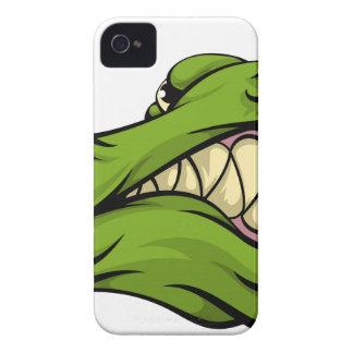 Alligator or crocodile mascot Case-Mate iPhone 4 case