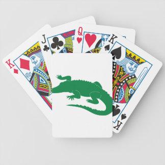 Alligator Poker Deck