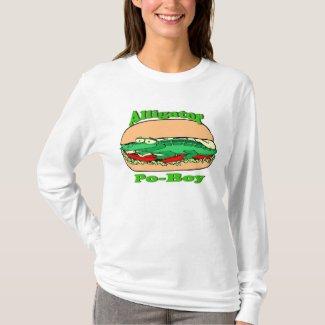 Alligator Po-Boy, Sandwich T-Shirt