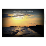 ALLIGATOR POINT, FLORIDA CARD