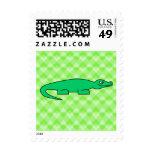 Alligator. Postage Stamps
