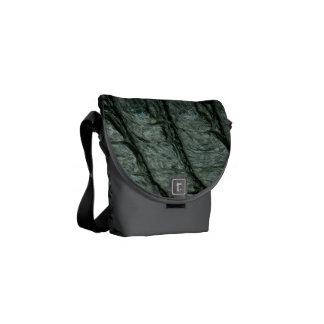 Alligator Print Messenger Bag