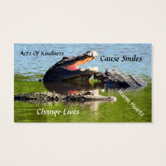 Alligator Random Acts of Kindness Card