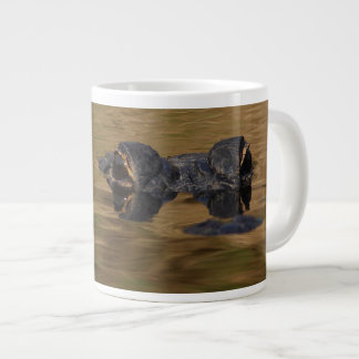 Alligator Reflections Giant Coffee Mug
