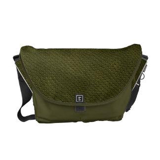 Alligator Rickshaw Messenger Bag