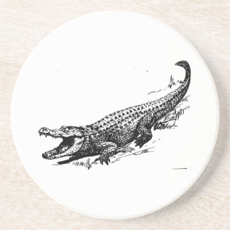 Alligator Sandstone Coaster