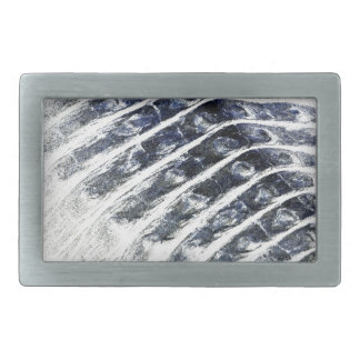 alligator scales neat abstract invert pattern belt buckles