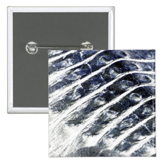 alligator scales neat abstract invert pattern 2 inch square button