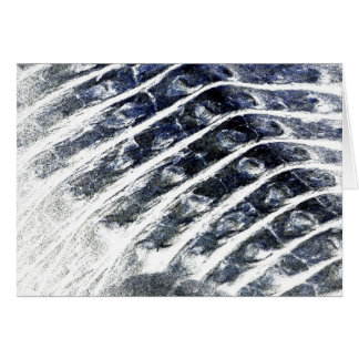 alligator scales neat abstract invert pattern stationery note card