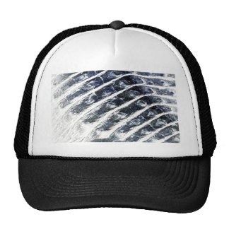 alligator scales neat abstract invert pattern hats