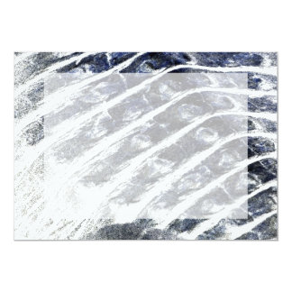 alligator scales neat abstract invert pattern 5x7 paper invitation card