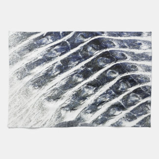 alligator scales neat abstract invert pattern kitchen towels
