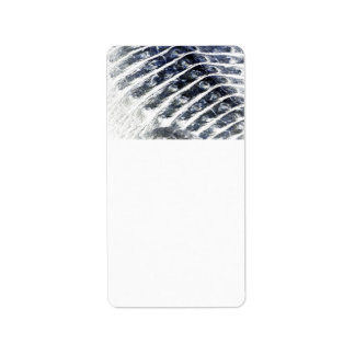 alligator scales neat abstract invert pattern address label