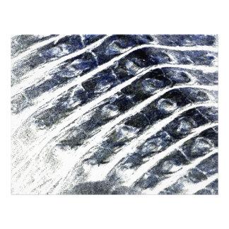 alligator scales neat abstract invert pattern letterhead