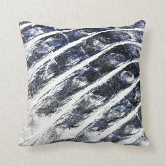 alligator scales neat abstract invert pattern throw pillows