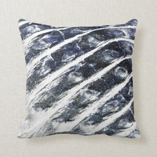 alligator scales neat abstract invert pattern pillow