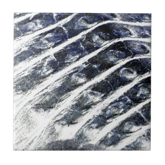 alligator scales neat abstract invert pattern small square tile