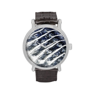 alligator scales neat abstract invert pattern wristwatches