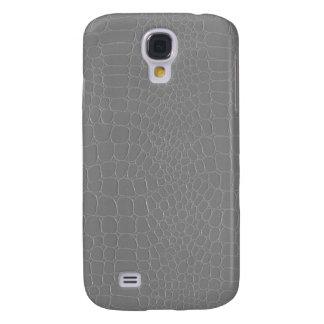 Alligator Silver Grey Galaxy S4 Case