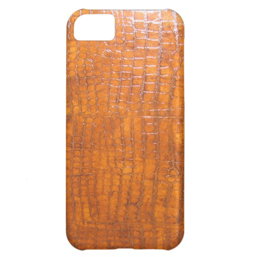 Alligator Skin High Definition Print iPhone 5C Cover