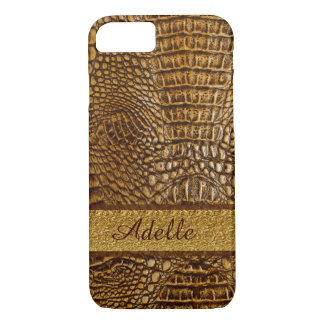 Alligator Skin iPhone 7 Case Custom Mobogram