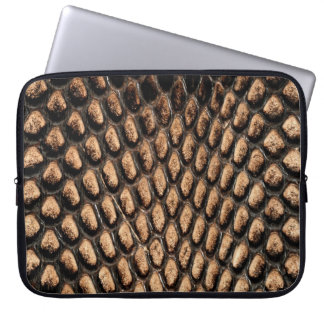 Alligator Skin Print Laptop Sleeve