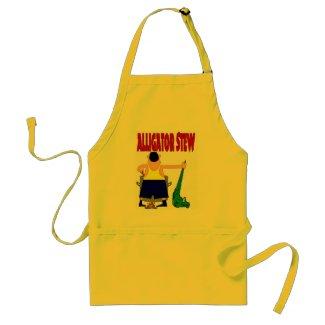 Alligator Stew apron