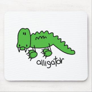 Alligator Stick Figure Mousepad