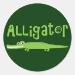 Alligator Stickers