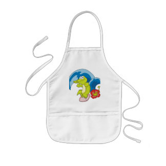Alligator Surfer Tshirts and Gifts Kids' Apron