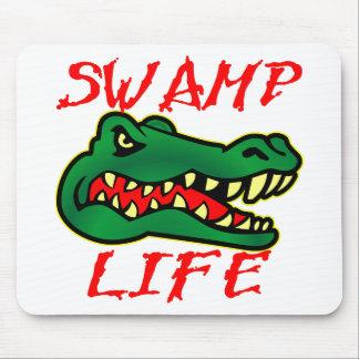 Alligator Swamp Life Mouse Pad