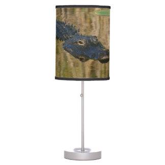 Alligator Swimming Table Lamp