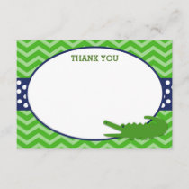 Alligator Thank You cards