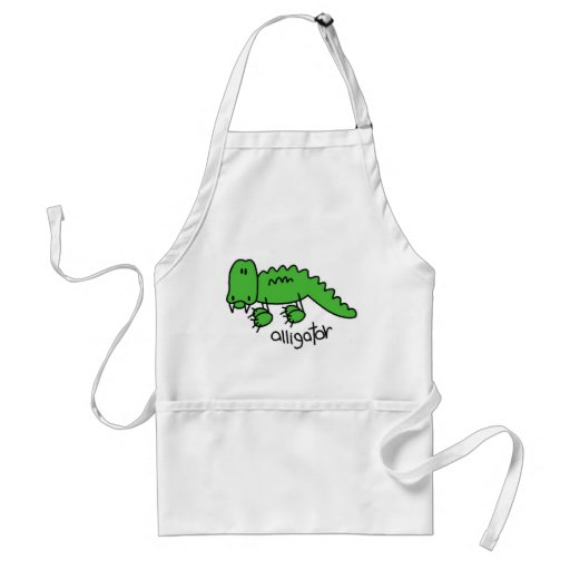 Alligator Tshirts and Gifts Adult Apron