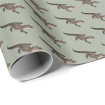 Alligator Wrapping Paper