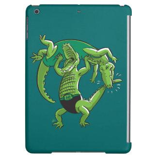 Alligator Wrestling Case For iPad Air