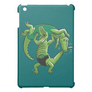 Alligator Wrestling iPad Case