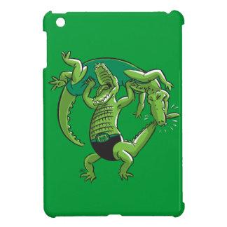 Alligator Wrestling iPad Mini Cases