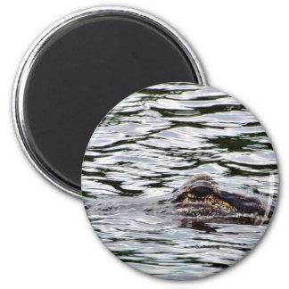 Alligators 2 Inch Round Magnet