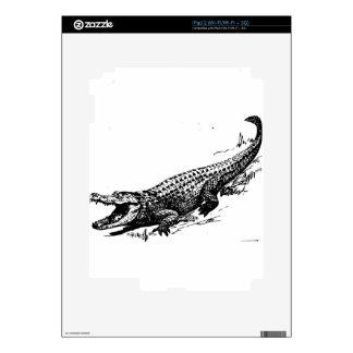 alligators-37912 skins for iPad 2