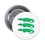 Alligators. Buttons